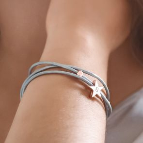 Personalised Star Wrap BRacelet