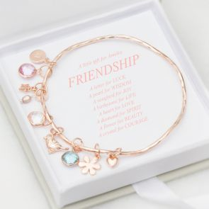 A Little Happiness Personalised Friendship Bracelet