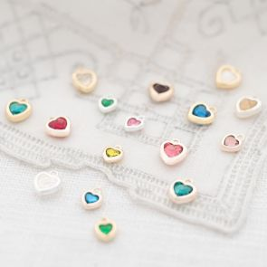 Swarovski Crystal Heart Birthstones Available in Various Sizes