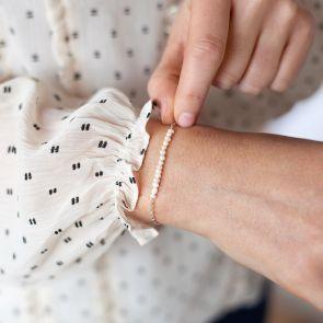 Anja Freshwater Pearl Personalised Bracelet