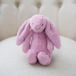 pink tulip bashful bunny by jellycat