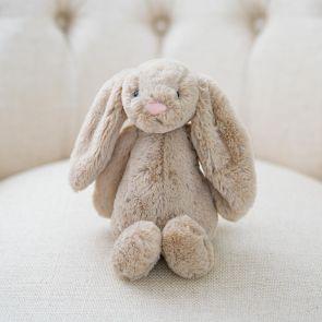 beige jellycat bashful bunny