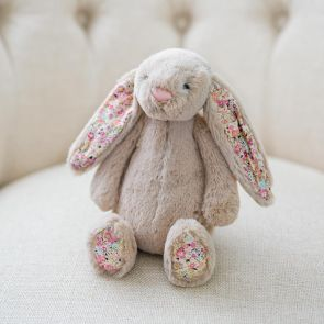 blossom beige bunny by jellycat
