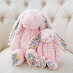 blush blossom bunny in medium and small