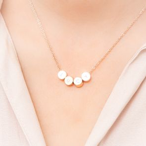 Brooklyn Personalised Initial Disc Necklace