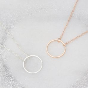 Circle Of Life Personalised Necklace