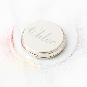Personalised Compact Hand Mirror