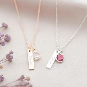Daniella Bar Personalised Necklace