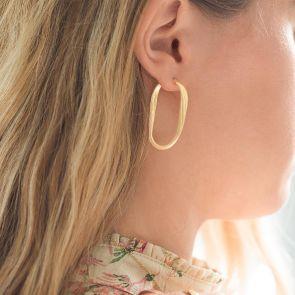 Edie Hoop Personalised Earrings