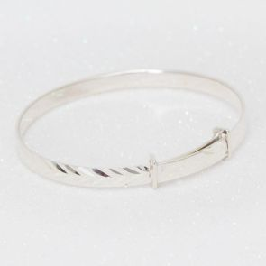Erin Children's Sterling Silver Adjustable Bracelet
