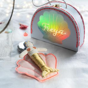 Magical Mermaid Personalised Suitcase