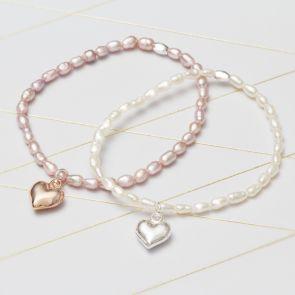 Lola Freshwater Pearl Personalised Bracelet