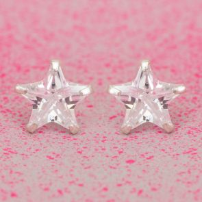 Liana Sterling Silver Star Earrings