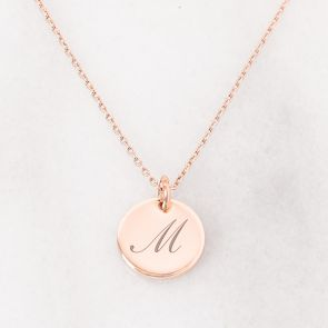 Personalised M Necklace