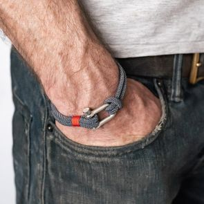 men's letter bracelet