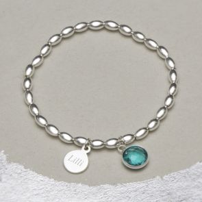 Nala Birthstone Personalised Bracelet