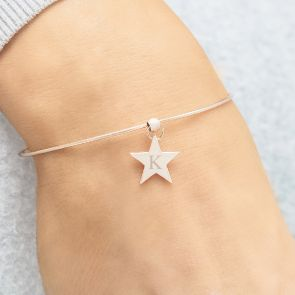 Taylor Personalised Star Bangle