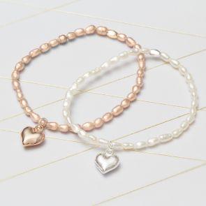 Catilda Freshwater Pearl Personalised Bracelet