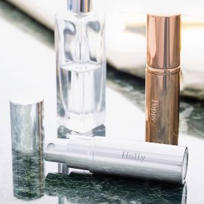 Personalised Silver Plated Perfume Atomiser