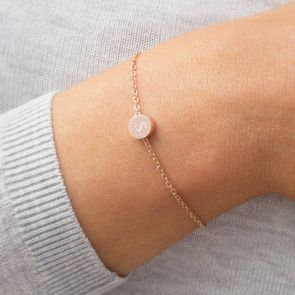 Sterling Silver Fia personalised bracelet