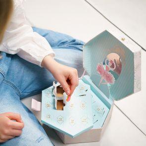 Personalised Christmas Ballerina Advent Calendar