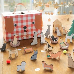 Personalised Festive Dog Advent Calendar