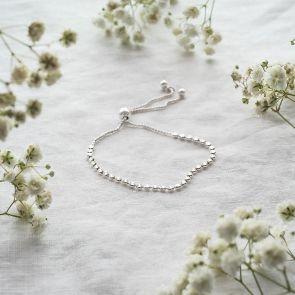 Sterling Silver Star Slider Bracelet