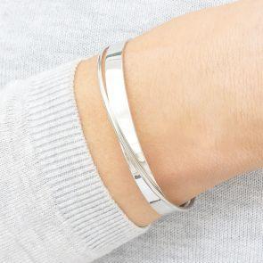 Silver Infinity Personalised Bracelet