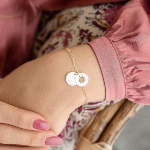 Star Hidden Message Personalised Bracelet