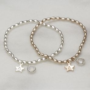 Stella Personalised Bracelet With Extra Charms