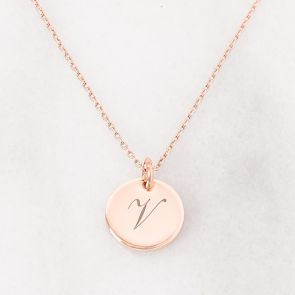 Personalised V Necklace