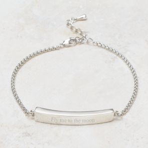Anja Bar Personalised Friendship Bracelet