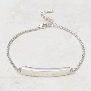 Anja Bar Personalised Bracelet