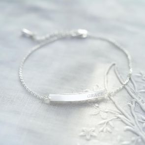 Bella Personalised Bar Bracelet