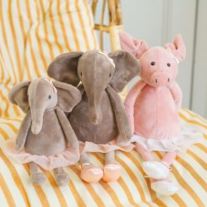 Jellycat Dancing Darcey Elephant and Pig