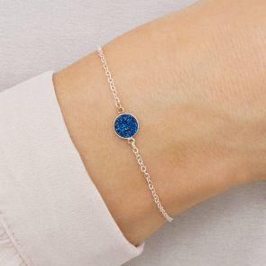 Personalised Initial Druzy Bracelet