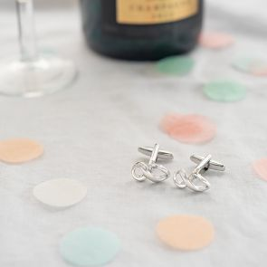 Personalised Infinity Cufflinks