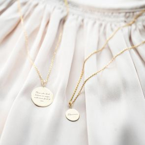 Sterling Silver North Star Personalised Necklace