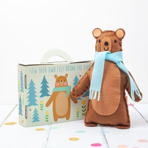 Mini Kids Sew Your Own Bear Kit