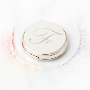 Personalised Monogram Compact Mirror