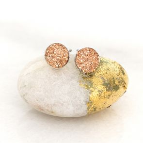 Personalised Druzy Earrings