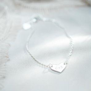 Friendship Heart Personalised Bracelet