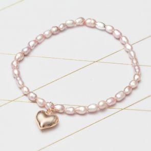 Lola Freshwater Pearl Personalised Friendship Bracelet