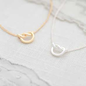 Infinity Knot Personalised Necklace