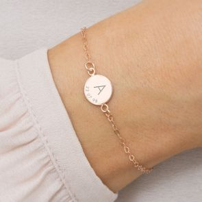 Initial And Date Personalised Bracelet