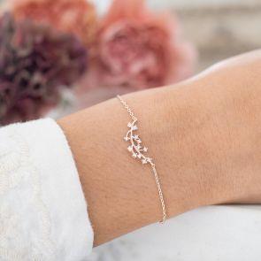 Lorna Personalised Crystal Branch Bracelet