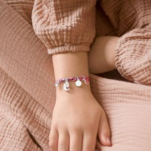 Mini Liberty Create Your Own Sterling Silver Personalised Friendship Bracelet