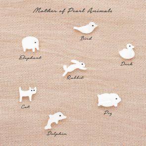 Add a Mother of Pearl Animal Charm