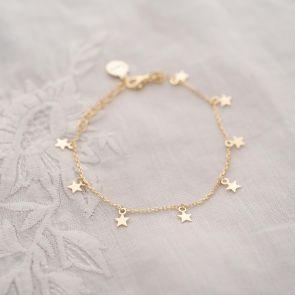 Multi Star Personalised Bracelet