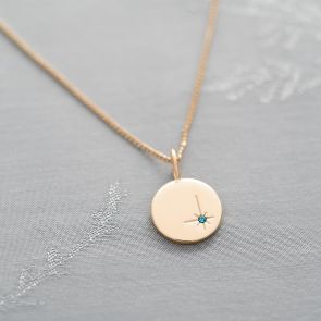 Add A North Star Initial Birthstone Charm
